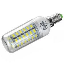 E14 <b>8W</b> LED Corn Bulb Lamp 56-SMD 5730 (AC 220) Sale, Price ...