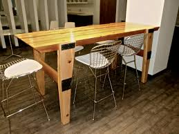 Exciting Narrow Dining Table Wood Pics Decoration Ideas ...
