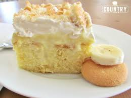 best banana pudding poke cake