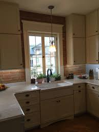 Farm Sink With Furniture Base Applied To The Cabinet Give This Northend Boise  Kitchen A Truly