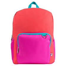 a funky colorblocked backpack that s the definition of back to cool