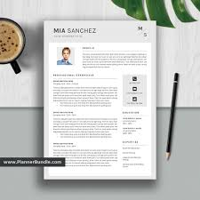 2020 Latest Cv Format Editable Resume Template Job Cv Template Professional Word Resume Design 2019 2020 College Students Interns Fresh Graduates Professionals Mia