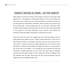 essay charity poor people essay on charity bartleby