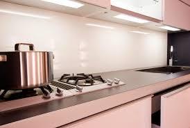 kitchen white glass backsplash. View Larger Image · Back Painted Glass True White ColourGlas Kitchen Backsplash