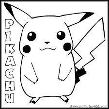 free printable pokemon coloring pages pikachu printable of pikachu coloring pages for s