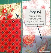 Double Sliced Layer Cake Quilt Tutorial - Heart at Home : Heart at ... & double_layer_cake_quil_step3. time_saving_quilting Adamdwight.com