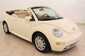 2005 Volkswagen New Beetle Gls Convertible In Harvest Moon Beige Yaaas Volkswagen Beetle Convertible Volkswagen New Beetle Beetle Convertible