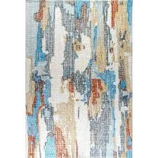 blue gray area rug indoor area rug sofia light gray blue area rug by darby home