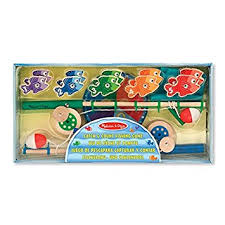 Melissa And Doug Wooden Games Delectable Melissa Doug Catch Count Wooden Fishing Game With 32 Magnetic