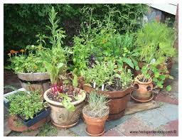 Kitchen Garden In Pots Plant A Container Garden By Following These Easy Steps