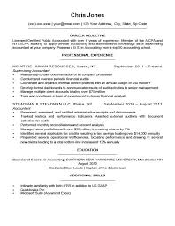 Objective On Resume Sample Objectives Resume Samples Sample Resume