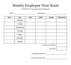 Employee Time Sheets Excel Microsoft Timecard Template Altpaper Co