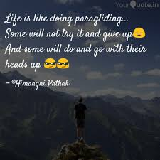 Best Paragliding Quotes Status Shayari Poetry Thoughts Yourquote
