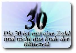30 Geburtstagssprüche