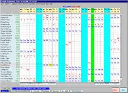 Work Shift Scheduling Guia International Scheduling Employees Assistant Software