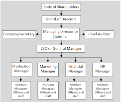 Organization Chart Of Manufacturing Company Www