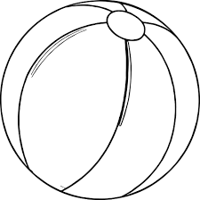Small Picture Summer Beach Ball Coloring Page Wecoloringpage