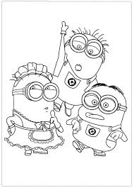 Despicable Me 2 Antonio Coloring Pages Traffic Club