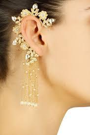 Ear Cuffs Indian Design Rohita And Deepa Jewelry Jewelry Accessories Fashion Jewelry