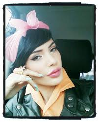 micheline pitt pinupcloting hair makeupglam