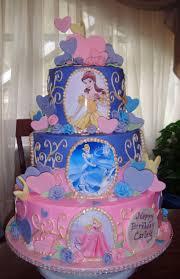 Childrens Birthday Cakes Disney Princesses Cake Ok Who Can Make