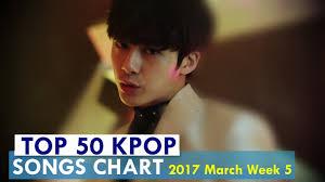 Top 50 Kpop Fan Songs Chart March Week 5 2017 Kpop Chart Best Of Kpc