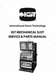 igt coinslots com coinslots com i g t m slot mechanical slot machine service parts manual