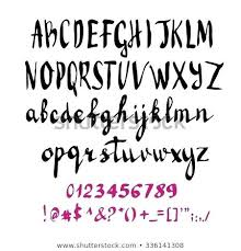 Letter For Banner Letters For Print Alphabet Hand Print Letters Numbers Symbols