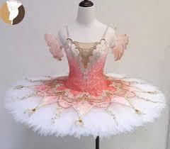 Light Pink Dance Costume Us 335 8 8 Off Fltoture Light Pink Ballet Pancake Tutu For Girls Ballet Variations Performance Jy2513 Professional Ballet Nutcracker Costumes In
