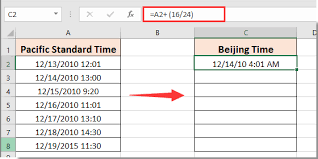 Zulu Time Conversion Chart Pdf How To Convert Date Time From One Time Zone To Another In Excel