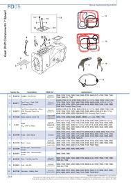ford transmission p t o page 210 sparex parts lists s 73978 ford fd05 204