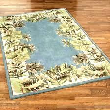 palm tree area rugs super stylist and luxury s home depot 8 round border palm tree area rugs