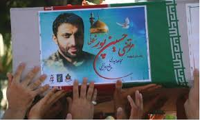 Image result for تشییع پیکر مطهر شهید مدافع حرم سرهنگ مرتضی حسین پورشلمانی در لنگرود