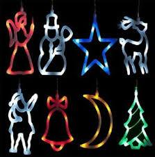 Details Zu 8er Led Weihnachtsdeko Fensterdeko Advent Deko Lichterkette Weihnachten Saugnapf