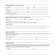 13 Letter Of Medical Necessity Form Templates To Download Sample