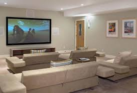 Small Home Theater Small Theater At Home With Cozy Seating Idea Techethecom