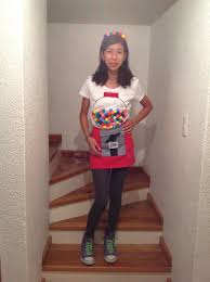 gumball machine costume adorable