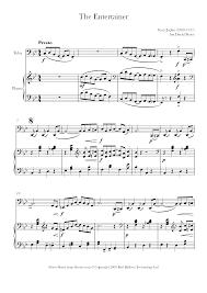 The entertainer by scott joplin for easy/level 2 guitar solo. Joplin The Entertainer Sheet Music For Tuba 8notes Com