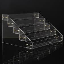 Acrylic Tiered Display Stands 100 Tiers 100 Bottles Clear Acrylic Nail Polish Detachable Cosmetic 55