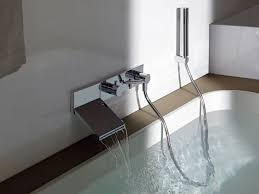 Wall Bathroom Faucet Gorgeous Wall Mount Bathtub Faucet Ideas Of Best Step To Fix Wall