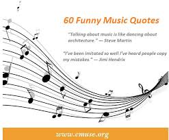 She sang my soul back together by cleo wade. 60 Funny Music Quotes Of All Time Cmuse