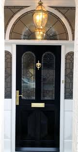 from our grand victorian doors range black