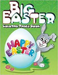 Big Easter Coloring Pages Book Super Fun Coloring Books For Kids