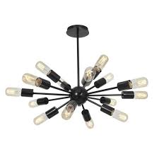 access lighting flux 23 5 16 light vintage lamped chandelier in bronze contemporary chandeliers chandeliers