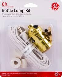 Walmart Lighting Kit Ge Bottle Lamp Kit Includes 8ft Cord Socket Bottle