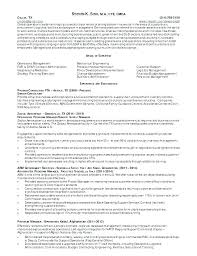 General Contractor Resume Sample Sports Management Resume Samples ...