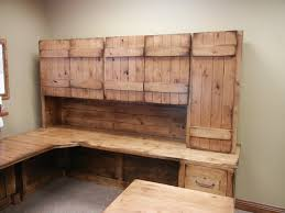 rustic office desk farmhouse home office omaha modern intended for rustic office desk ideas