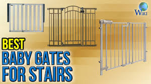 Gate For Stairs 10 Best Baby Gates For Stairs 2017 Youtube