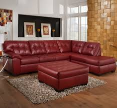 affordable furniture sensations red brick sofa. 9569 2 Piece Sectional With Tufted Seats \u0026 Back By United Furniture Industries - Royal Sofa Memphis, Jackson, Southaven, Cordova, Affordable Sensations Red Brick