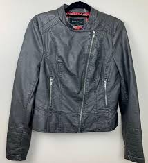 we re the app for cute clothes say to being bored of your clothes home black rivet black faux leather jacket